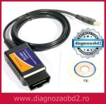 Interfata diagnoza multimarca ELM 327 +  BONUS Scanmaster 2.1 !