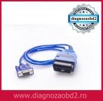 Interfata tester diagnoza Volvo , OBD2 , serial RS232