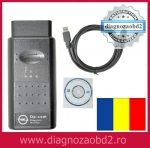 Interfata diagnoza tester auto OP.COM Opel - lb. Romana 2010  sau Engleza