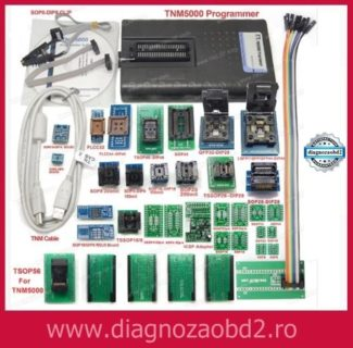 Programator memorii flash TNM5000 + 31 adaptoare nand