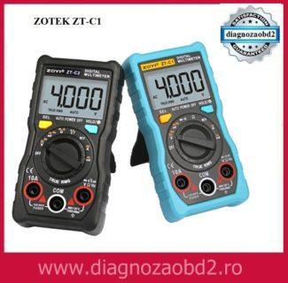 Aparat de masura ZOTEK ZT-C1 digital, ecran LCD