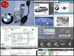Interfata diagnoza si programare auto BMW ISTA/P ISTA/D 2016