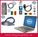 Laptop Dell e5430 i3 + interfata diagnoza Vag.com + OP.COM + Ford Romana
